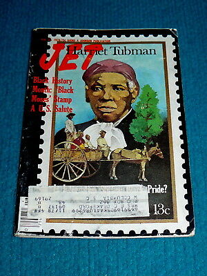 JET MAGAZINE Feb. 23, 1978 : Harriet Tubman @ BLACK HISTORY MONTH - MOSES STAMP