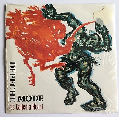 "DEPECHE MODE - It's Called A Heart - Rare UK 7"" with poster STILL SEALED (Vinyl)"