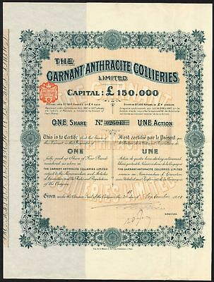 Garnant Anthracite Collieries Ltd., 1910