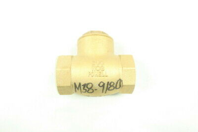 Powell Bronze Swing Gate Check Valve 1-1/2in Npt 125