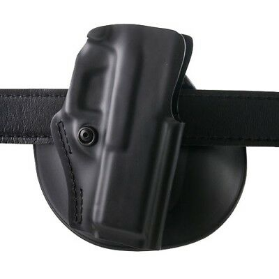 Safariland 5198-83-411 Fits Glock 17/22/31/37 Belt Paddle Holster RH Plain Black