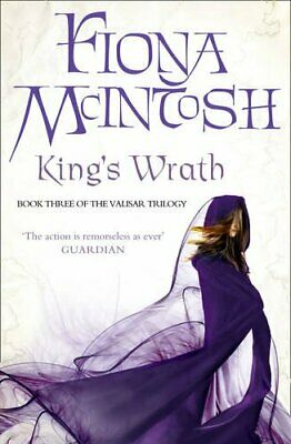 King's Wrath (The Valisar Trilogy, Book 3) by McIntosh, Fiona Hardback Book The
