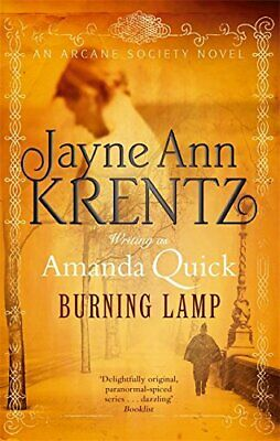 Burning Lamp: Number 8 in series (Arcane Society) by Quick, Amanda Paperback The