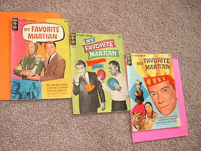 1965-66 My Favorite Martian 5 6 8 GD- & VG Free Shipping