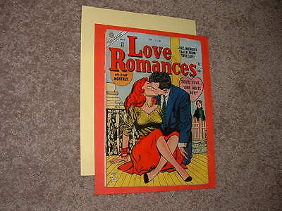 1954 Atlas Love Romances 41 Major Headlights Cover! Colletta, Pike, Hartley VG-