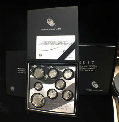 2017-S Limited Edition Silver Proof Set -- SOLD OUT at The Mint! - 17RC