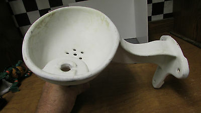 Vtg  School House  Gas Station  Drug Store  Porcelain   Water Drinking Fountain