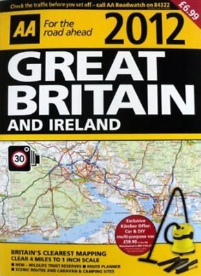 NEW AA Road Atlas UK/Great Britain + Ireland, Large Scale/Camera Locations, Very