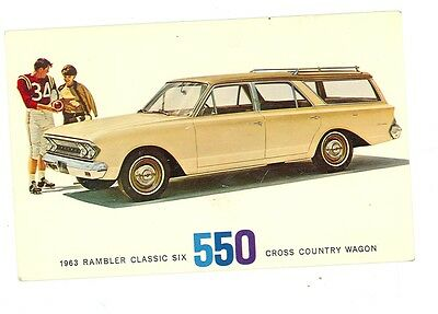 1963 Rambler Classic Six 550 Cross Country Wagon (autoB#989*2