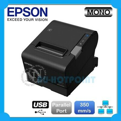 Epson TM-T88VI-243 Thermal POS Receipt Printer Built-in Ethernet/USB/Parallel