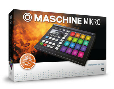 Native Instruments Maschine Mikro MKII - Groove Production Tool