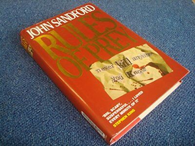 Rules of Prey by Sandford, John Hardback Book The Fast Free Shipping