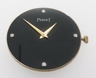 Vintage Piaget 9P2 Manual wind 18 Jewel Movement & Diamond Dial Complete