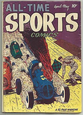 ALL-TIME SPORTS COMICS #4 (New  York Giants (Baseball), The Ottawa Comet) 1949