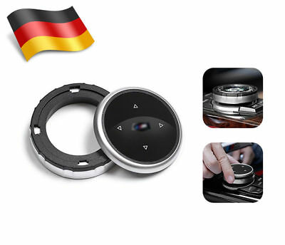 DE Replacement Bigger Multimedia Knob Cover IDRIVE Button For BMW M125 7 X1 X3