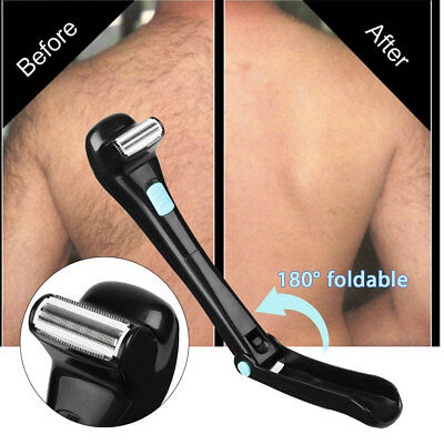 Cordless Electric Back Hair Arms Shaver Remover Razor DIY Tool Shaving Trimmer