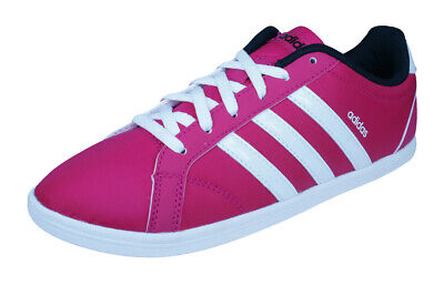 release date b14d9 dcf40 adidas Neo QT Coneo Womens Sneakers   Casual Sports Shoes - Pink
