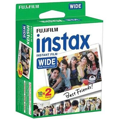 Fujifilm Instax Wide Instant Color Print Film, 2 Pack