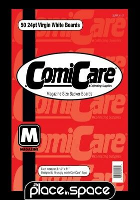50 x MAGAZINE SIZE BACKING BOARDS (COMICARE) (SUPPLY117)