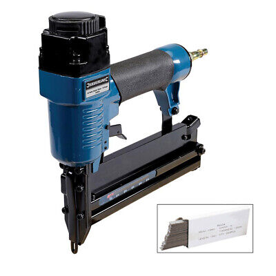 2In1 Air Nailer Stapler 18 Gauge 10Mm - 50Mm + 5000 Brad Nails - 3 Year Warranty