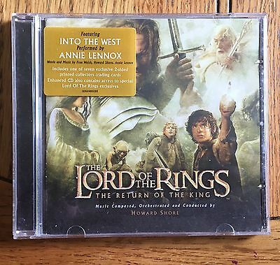 The Lord of the Rings - The Return of the King Soundtrack CD Howard Shore