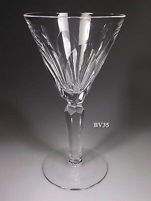 "Waterford Crystal Sheila Claret Wine Goblet  6 1/2"" - Goblets"