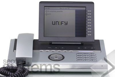 Unify / Siemens Openstage 80 SIP / IP Systemtelefon silverblue
