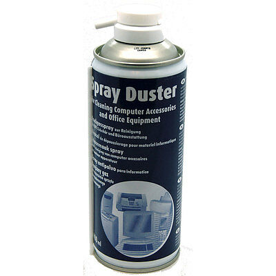Compressed AIR DUSTER/CLEANER 400ml SPRAY CAN - Made in Germany NEW