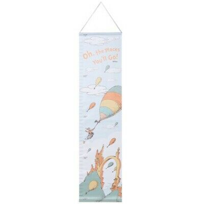 Trend Lab Dr. Seuss Oh, the Places You'll Go! Canvas Growth Chart - 30166