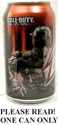 "NEW FULL Mountain Dew Call of Duty ""Black Ops"" Game Fuel Cherry Citrus USA 2015"