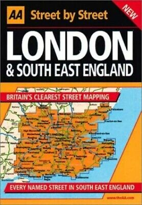 AA Street by Street London and South East England Paperback Book The Fast Free