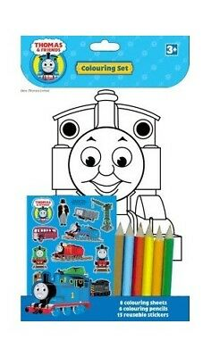 Thomas and Friends Colouring Set [Toy] 184750261X The Fast Free Shipping