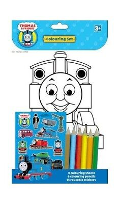 Thomas and Friends Colouring Set [Toy] Book The Fast Free Shipping