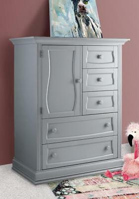 New Eco Chic Baby Dorchester Chifferobe - Grey Model:1F27D31F