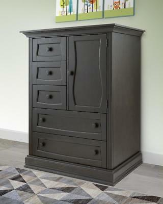 New Eco Chic Baby Dorchester Chifferobe - Slate Model:39810EA5