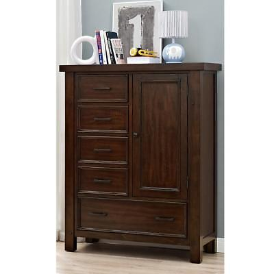 New Bertini Timber Lake Chifforobe - Dark Walnut Model:54CC355E