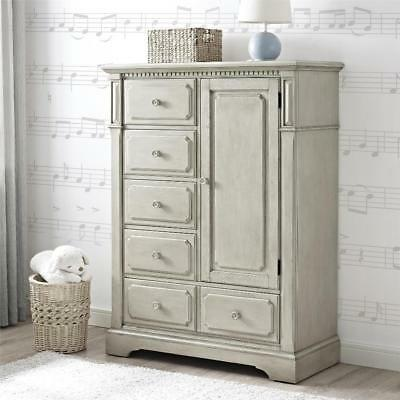 New Bertini Graceland Chifferobe - Gray Satin Model:8993363E