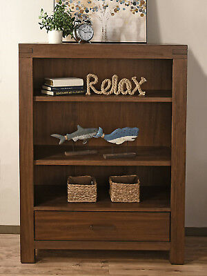 New Oxford Baby Piermont Bookcase - Rustic Farmhouse Brown Model:618703A7