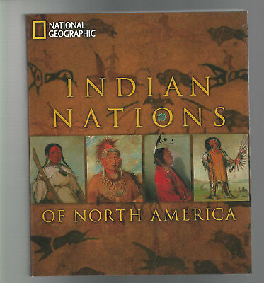 NATIONAL GEOGRAPHIC BOOK 2010 NATIVE AMERICAN INDIAN NATIONS New Softcover Illus