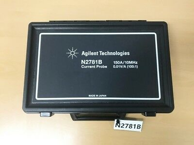 Agilent N2781B 150A 10MHz 0.01V/A 100:1 Current Probe