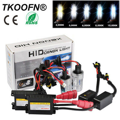 H1 H3 H4 H7 HID Xenon Conversion Kit For Volkswagen (VW) Golf MK4 MK5 and MK6