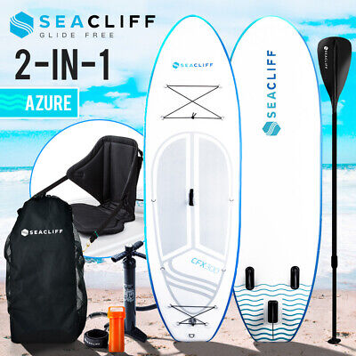 New SEACLIFF Stand Up Paddle Board SUP Inflatable Paddleboard Kayak Surf Board