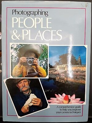 Photographing People Places Camera Hardcover Book Marshall Cavendish