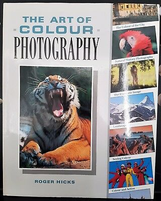 The Art of Colour Photography Camera Hardcover Book Roger Hicks
