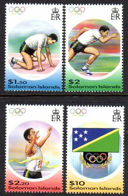 2004 SOLOMON ISLANDS OLYMPIC GAMES ATHENS SG1057-1060 mint unhinged