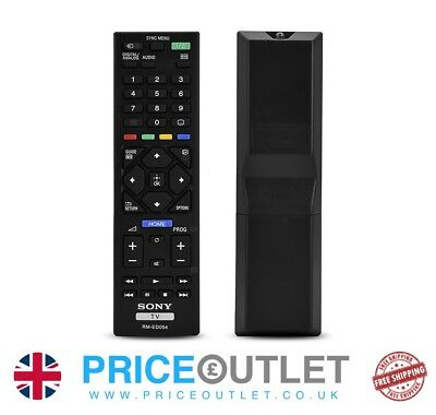 New Sony RMED054 / RM-ED054 FOR RM-ED062 TV Remote Control c59 c60