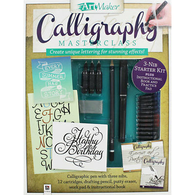 Art Maker Calligraphy Masterclass by Art Maker (Hardback), Children's Books, New