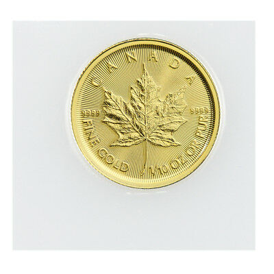 2018 Canada 1/10 oz Gold Maple Leaf $5 Coin GEM BU Mint Sealed PRESALE SKU49805