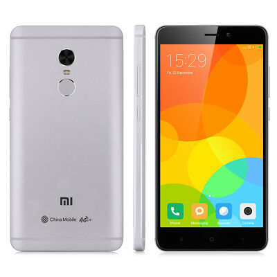XIAOMI Redmi Note 4 64GB 5.5'' 4G LTE Smartphone Android6.0 DecaCore Fingerprint