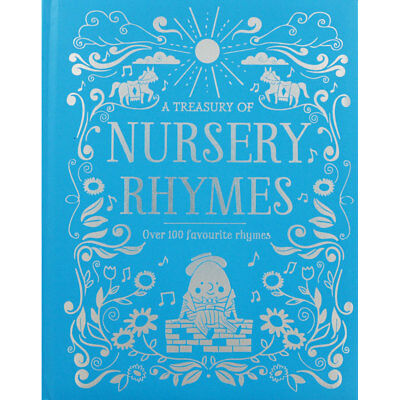 A Treasury Of Nursery Rhymes (Hardback), Children's Books, Brand New